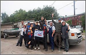 Команда участников сплава по Шешупе 2011