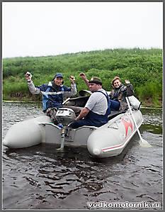 Команда лодки Баджер 420
