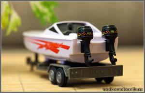 Катер со спаркой Mercury Pro XB 288