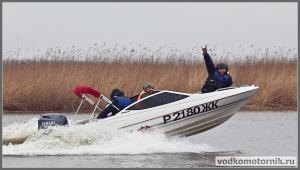 Bayliner весенние ходовые испытания катера