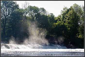 Лава. Водопад.