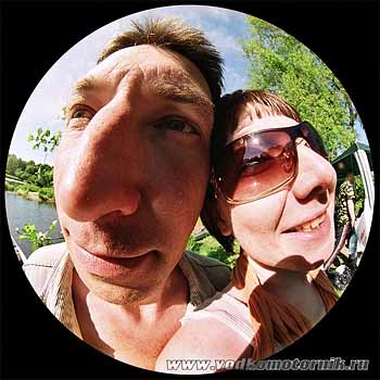 Водномоторная семейная пара.