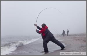 Ловля крупного лосося