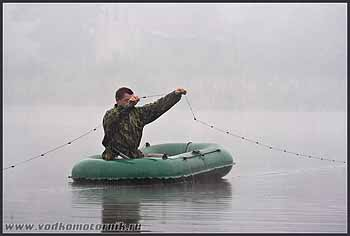 Не наш метод рыбной ловли...
