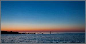 Рыбаки в устье Вуоксы