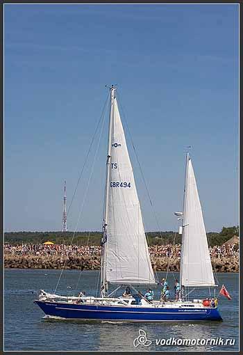 Яхта Ocean Scout Великобритания.