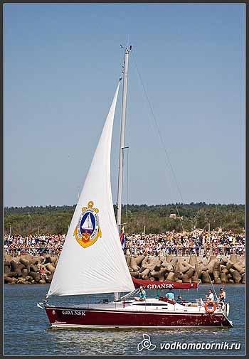 Яхта \'GDANSK\' Польша.