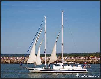Яхта \'GEDANIA\' Польша.
