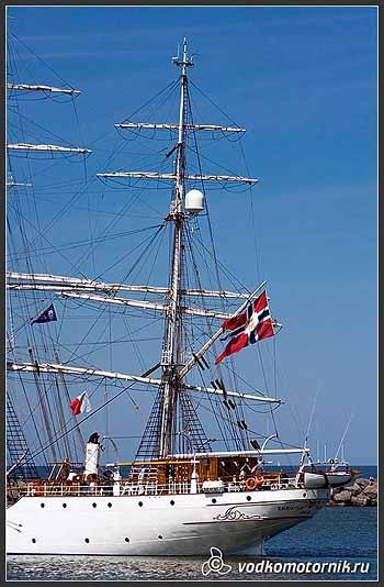 Яхта 'CRISTIAN RADICH' Норвегия