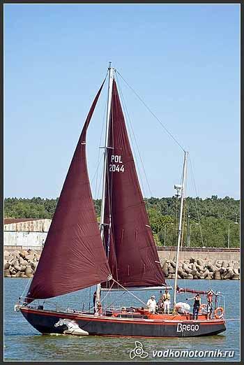 Яхта 'BREGO' Польша
