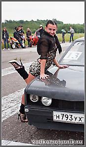 Opel Kadett на старте