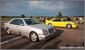 Mercedes и Skyline - старт!