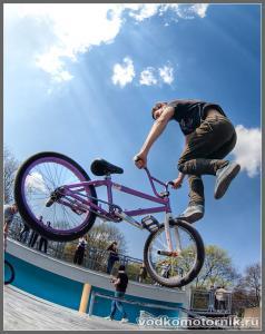 BMX спорт