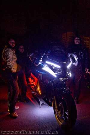 Ночная мотоциклетная.