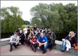 Калининградцы у Брестской крепости