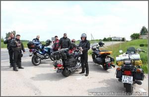 Калининградская колонна мотоциклистов