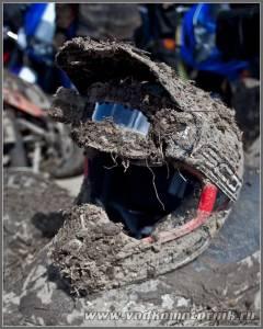 Шлем мотоциклиста эндуро кросс
