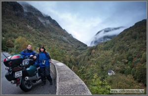 Водкомоторники в Пиренеях