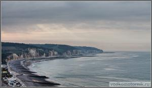 Нормандия - меловые скалы