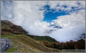 Облака в Пиренеях