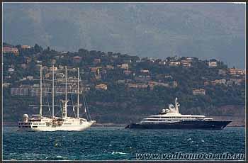 На рейде в Монако.
