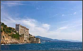 Монако. Средиземное море.