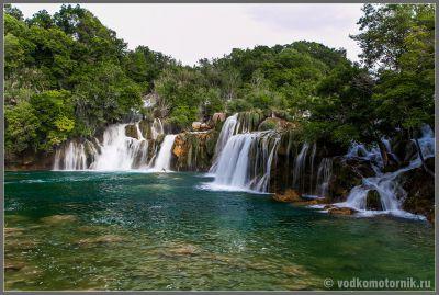 Плитвицкие озера - водопад