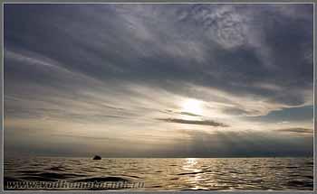 Вечер на Адриатическом море.