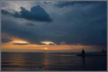 Закат на Адриатике. Пиран Piran.
