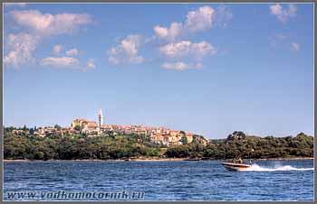 Хорватия - проходя Ровинь (Rovinj)