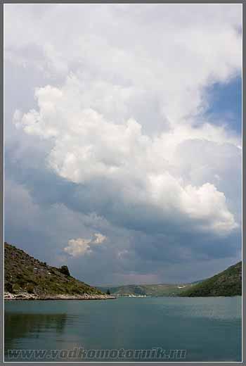 Хорватия. Вид на Тргет (Trget)
