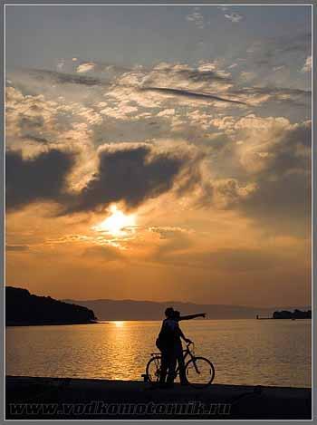 Остров Крес. Хорватия.