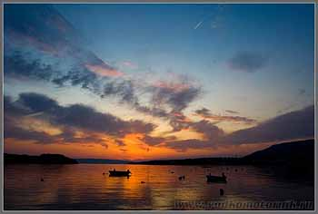 Остров Крес (Сres) закат.