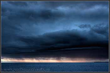Хорватия. Море перед Новиградом.