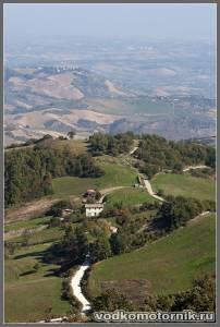 Ландшафты центральной Италии