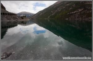 Водохранилище. Альпы