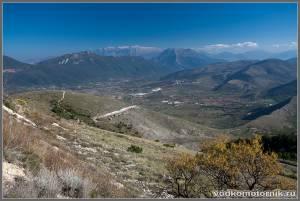 Холмистость центральной Италии - 2