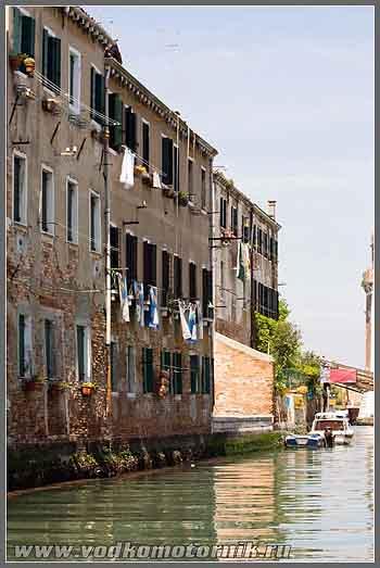 Венеция. Дома.