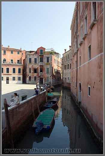 Венеция - канал.