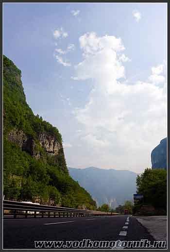 В Альпах Италии.