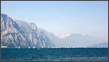 На озере Гарда (Garda) Италия.