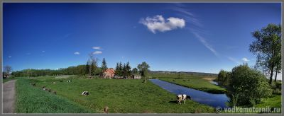 Панорама польских пейзажей