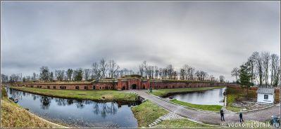 Панорама форта №11 Денхофф
