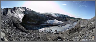 Исландская панорама ледник Ватнайокутль