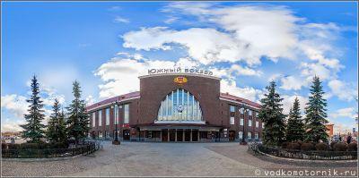 Калининград, вокзал Южный