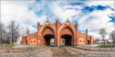 Бранденбургские ворота г.Калининград