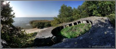Цитадель на берегу Калининградского залива