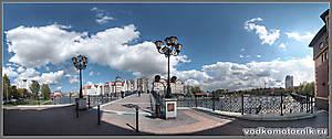 Пешеходный мост через Преголю
