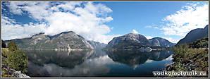Панорама EIDFJORD Норвегия