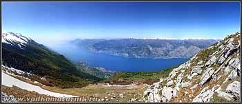Панорама озера Гарда (Garda)